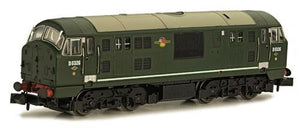 Class 22 D6326 Disc Headcode Green (DCC-Fitted)