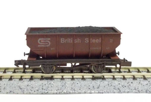 21t Hopper British Steel 33 Weathered
