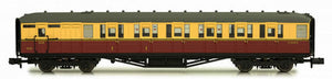 Gresley BR Carmine/Cream Brake Composite Coach E10119E