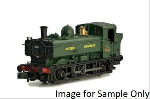 Pannier Late Cab 9741 BR Green (DCC-Fitted)