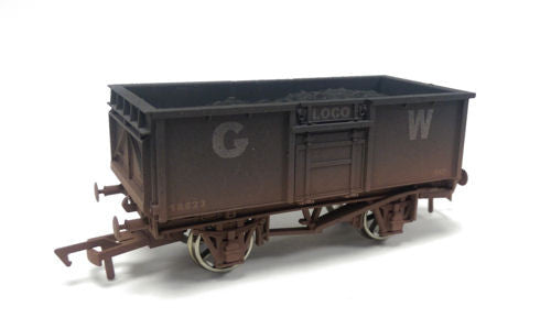 16t Steel Mineral Wagon GWR 18623 Weathered