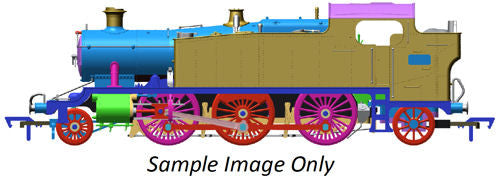 Large Prairie 2-6-2 5109 Green Great Western (DCC-Fitted)