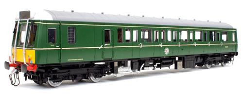 Class 121 W55027 BR Green Small Yellow Panel (DCC-Fitted)