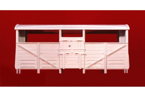 Cattle Wagon Body Unpainted