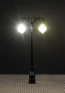 PRE ORDER - LED Ornate Pendant-Style  Double Arm Lamp 75mm (3)