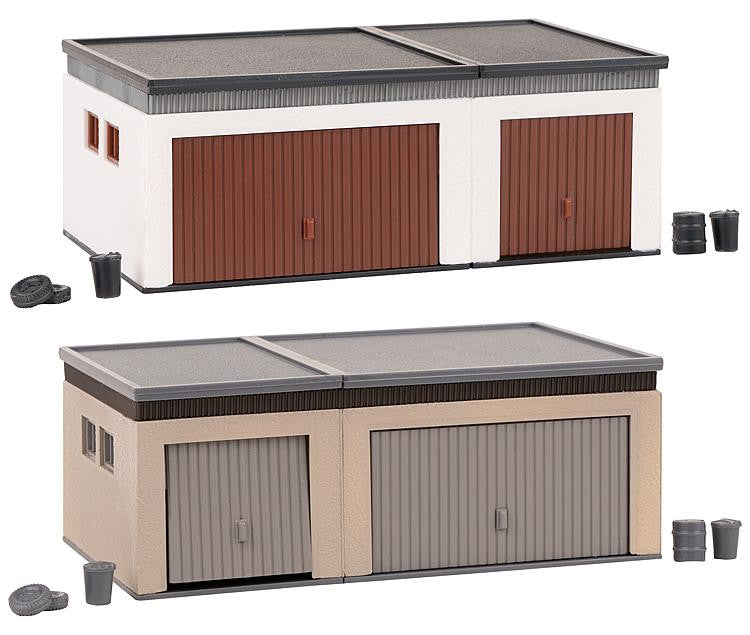 Double Garages (2) Kit