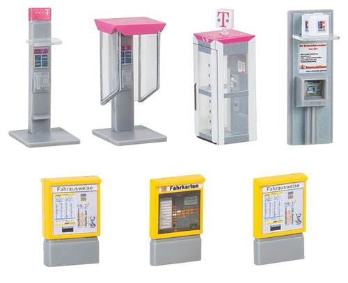 Vending/Ticket Machines & Telephone Booth Kit V
