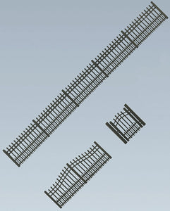 Garden Iron Fence Kit 684mm I