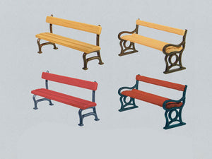 Park Benches (12) Kit III