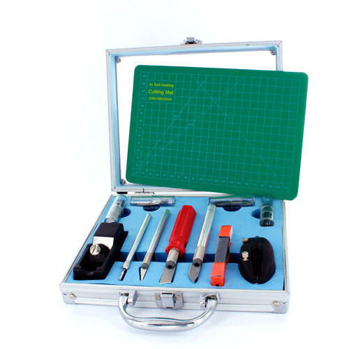 50pc Knife & Tool Set with Cutting Mat