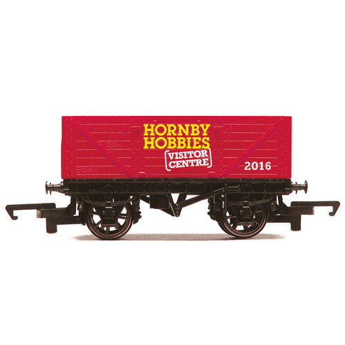 Hornby Visitor Centre 2016 7 Plank Open Wagon - R6779 -Available