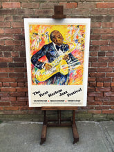 Load image into Gallery viewer, First Harlem Jazz Festival Poster by Kamil Kubik 1978