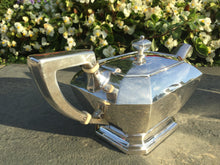 Load image into Gallery viewer, Art Deco Gorham Fairfax Sterling Silver Tea Set