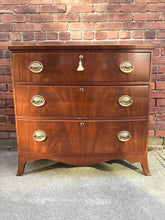 Load image into Gallery viewer, Antique English Georgian Period Chest of Drawers
