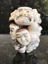 Load image into Gallery viewer, Antique Japanese Netsuke Figurine