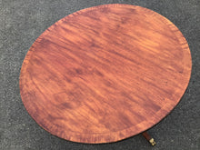 Load image into Gallery viewer, Round Mahogany Duncan Phyfe Coffee Table