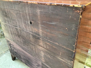 Antique English Georgian Period Chest of Drawers