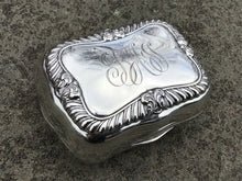 Load image into Gallery viewer, Antique Sterling Silver Traveling Soap Box by Gorham