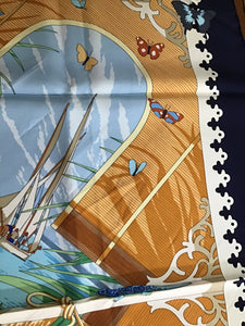 "Hermès Scarf ""Varangues"" in Box by DIMITRI RYBALTCHENKO"