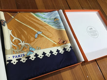 "Load image into Gallery viewer, Hermès Scarf ""Varangues"" in Box by DIMITRI RYBALTCHENKO"