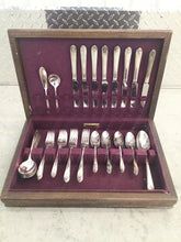 Load image into Gallery viewer, ROGERS SILVER FLATWARE SET 52 pcs ~EXQUISITE~