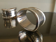 Load image into Gallery viewer, Tiffany & Co. Sterling Silver napkin rings (set of 6) designed by Elsa Peretti in Italy