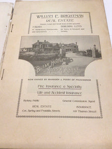 The Newport Mercury Almanac 1909