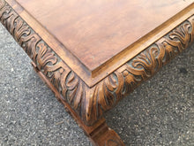 Load image into Gallery viewer, Antique Library Table Attributed to AJ Horner