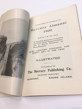 Load image into Gallery viewer, The Newport Mercury Almanac 1909