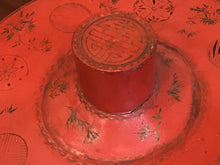 Load image into Gallery viewer, Chinese Qing Period Pigskin over Lacquer Hat Box