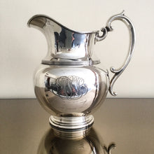 Load image into Gallery viewer, Sterling Silver Water Pitcher by Durgin and Retailed by Tilden Thurber
