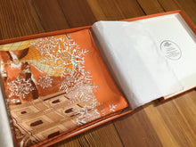"Load image into Gallery viewer, Hermès Scarf in Box ""De Passage a Moscou"""