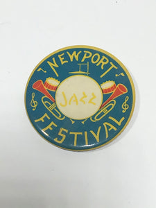 Newport Jazz Festival 1958 Pin Button