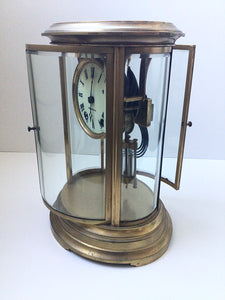 Antique Seth Thomas Brass Mantle Clock