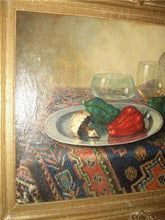 Load image into Gallery viewer, STILL LIFE OIL ON CANVAS SIGNED BEREND WOLTER WEYERS DUTCH LISTED ARTIST