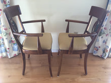 Load image into Gallery viewer, Pair of Designer Rooster Side Chairs from Newport Estate