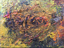 Load image into Gallery viewer, Original Abstract Thick Oil on Canvas Painting by Joseph Pafchek Circa 1950's-1960's