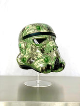 Load image into Gallery viewer, Stormtrooper Helmet Collaged in Dollar Bills - Star Wars Art