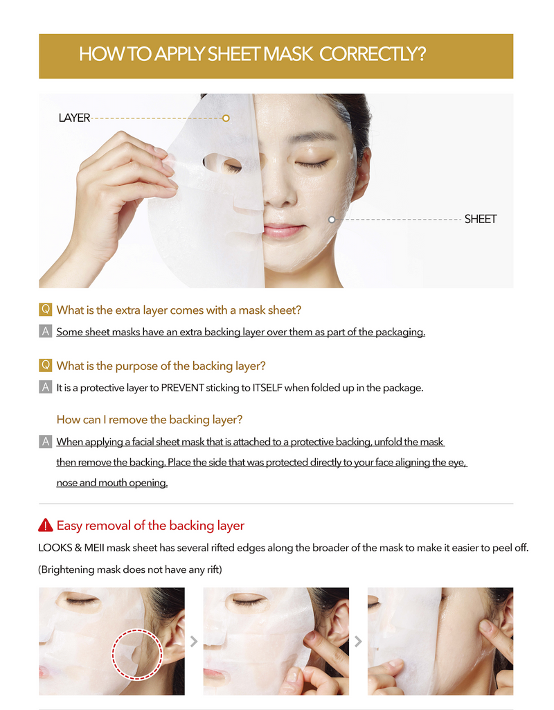 Brightening Lift Up Perfect Fit Mask