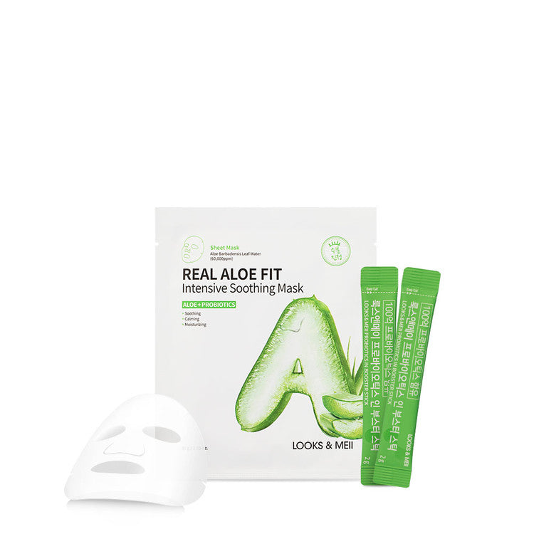 Real Aloe Fit Intensive Soothing Mask