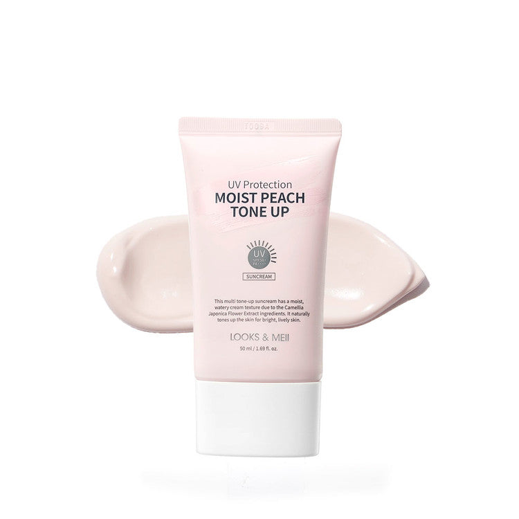 UV Protection Moist Peach Tone Up Suncream