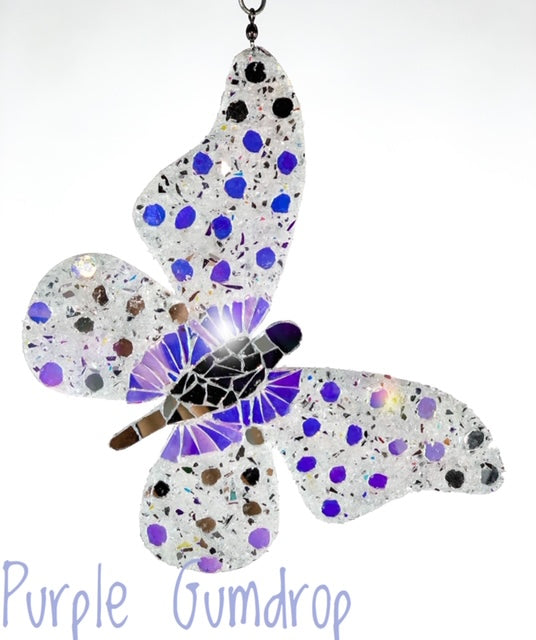 "Butterfly ""Purple Gumdrop"""