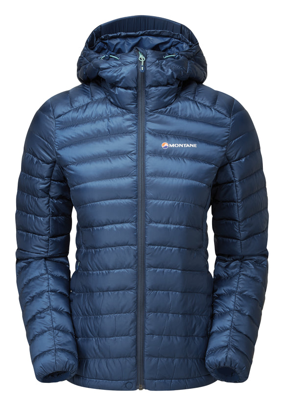 WOMEN'S FEATHERLITE DOWN JACKET Narwhal Blue