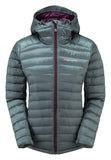 WOMEN'S FEATHERLITE DOWN JACKET Stratus Grey