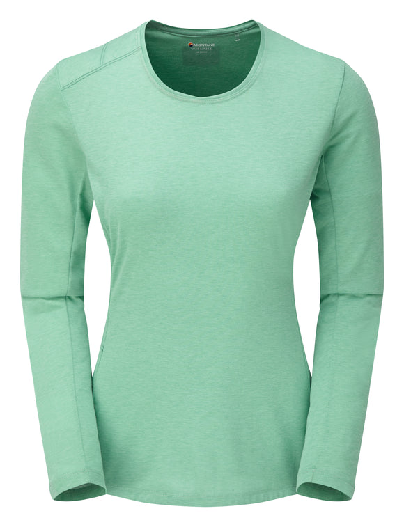 WOMEN'S BMC MONO LONG SLEEVE SHIRT Matcha Green