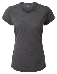 WOMEN'S BMC MONO T-SHIRT Charcoal