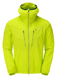 Wind Resistant Jacket in Green Citrus