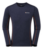 Long Sleeve Base Layer Antarctic Blue