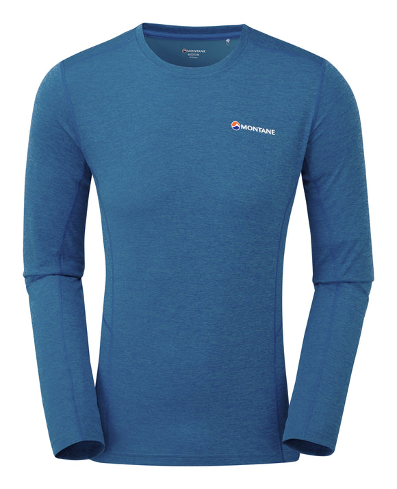 Long Sleeve Base Layer Electric Blue