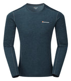 Long Sleeve Base Layer Orion Blue